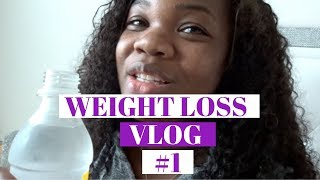 WEIGHT LOSS VLOG #1||WEIGHT LOSS JOURNEY 2019