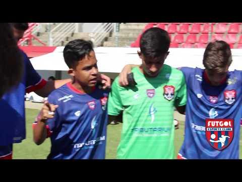 Momento de oração e motivação - atletas Futgol/Rubro Negro   Campeonato Mineiro Sub 15