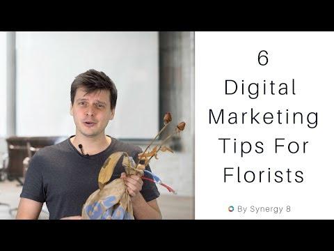 6 Digital Marketing Tips For Florists