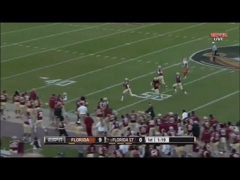Seminole Moment: Terrance Smith's Pick-Six vs. Florida (2014)