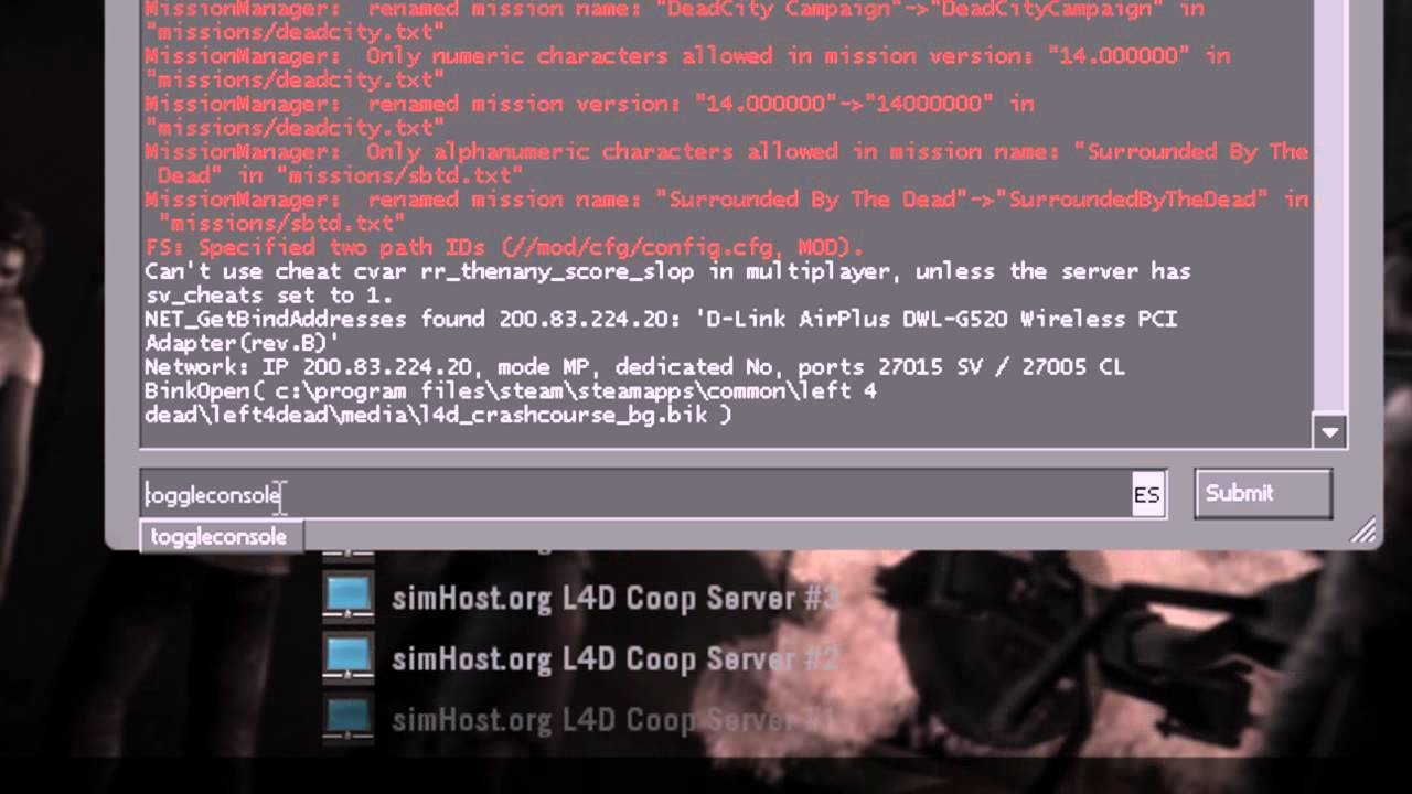 [Tutorial Steam] Como Abrir Consola y Server Broswer en Left 4 Dead 1 y 2  by Left4DeadChile