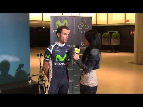 Presentación Movistar 2011 - Entrevista Valverde