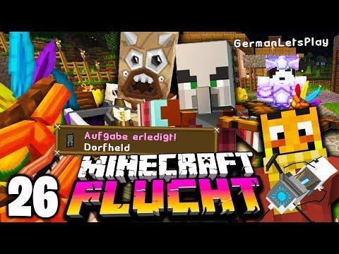 Wir haben das DORF GERETTET! ☆ Minecraft FLUCHT #26