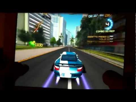Asphalt 7 gameplay ipad 3 HD ITA