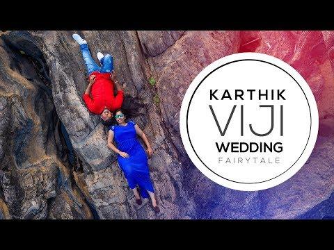 Karthik & Viji | Wedding Reception | Trailer Neeye - A tamil musical dance video