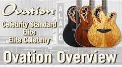 The Return of Ovation Guitars 2018 - Ovation Line Review & Overview