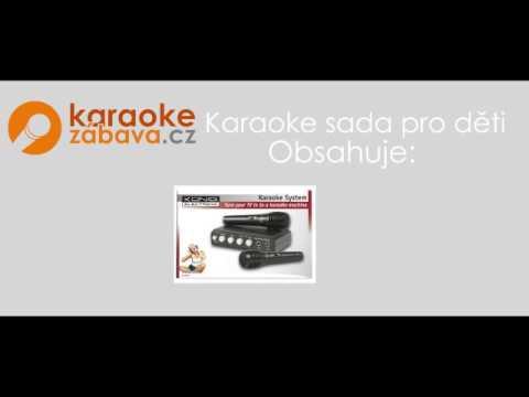 Karaoke sada pro děti - reklamní spot webu www.karaoke-zabava.cz