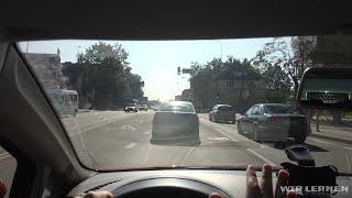 Autofahren lernen A05: Verkehr in der Stadt