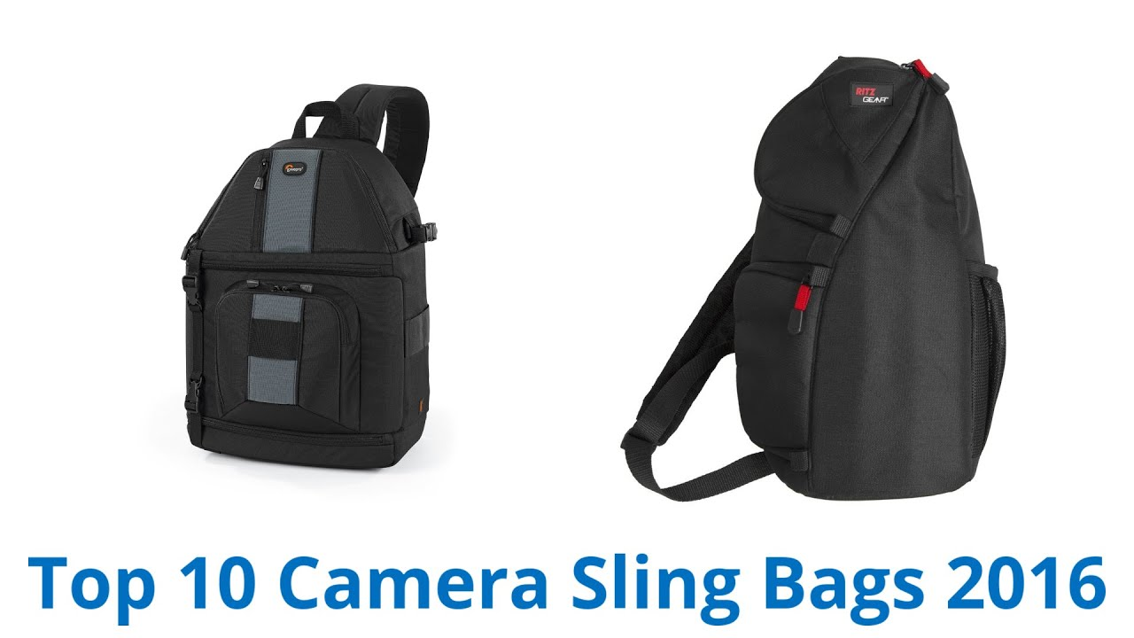 10 Best Camera Sling Bags 2016 - YouTube