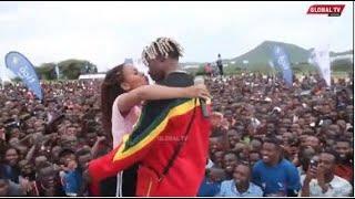 Duh! RAYVANNY Ampiga BUSU Laivu ZUCHU wa Dodoma, Ashindwa KUJIZUIA, Ona ALICHOMFANYIA..