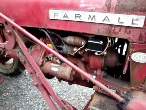 1960 intl farmall cub tractor serviced by randy s cycle