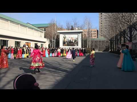 DPRK Election Day Dance (North Korea)
