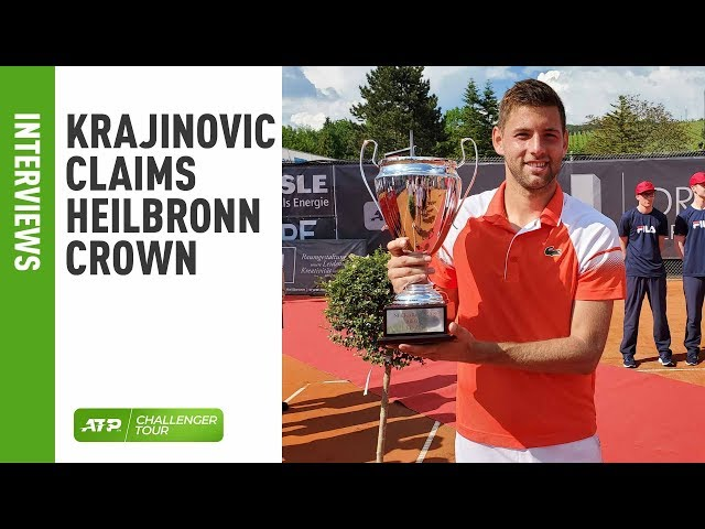 Krajinovic Claims Second Heilbronn Challenger Crown