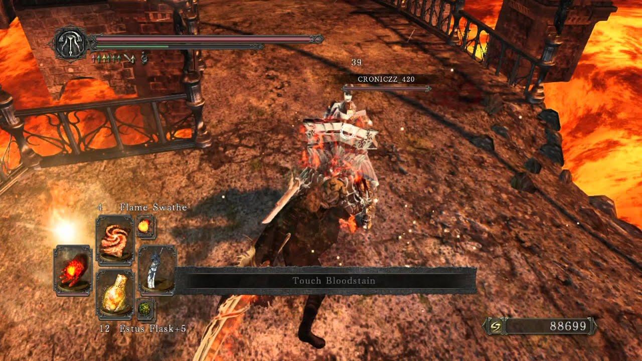 Dark Souls II - Curved Dragon Greatsword PvP [1080p] - YouTube