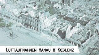 Flight from Hanau to Koblenz 1945 - Aerial Footage (SFP 186)