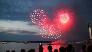 Салют в Севастополе 14.06.2014 на День города и День России