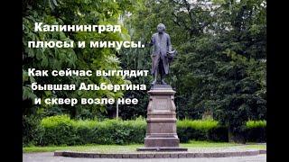 Калининград плюсы и минусы. Как сейчас выглядит бывшая Альбертина и сквер возле нее