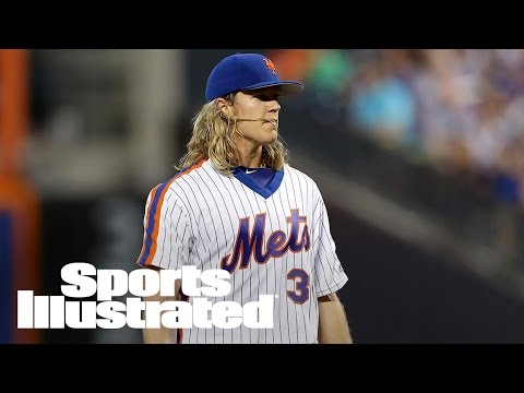 Mets' Noah Syndergaard Scratched With Biceps Discomfort | SI Wire | Sports Illustrated