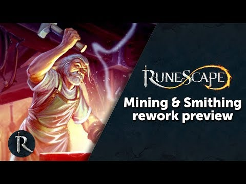 Mining and Smithing Rework - RuneScape Content Showcase 12/12