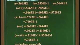 Lecture 6 - Numerical Error