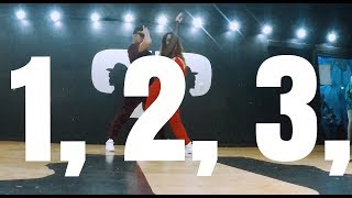1, 2, 3 -  Sofia Reyes - Jason Derulo - De La Ghetto - Coreografia Matias Orellana Video