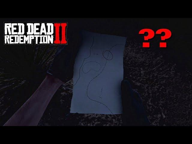 Une carte secrète jamais résolue ? - Red Dead Redemption 2