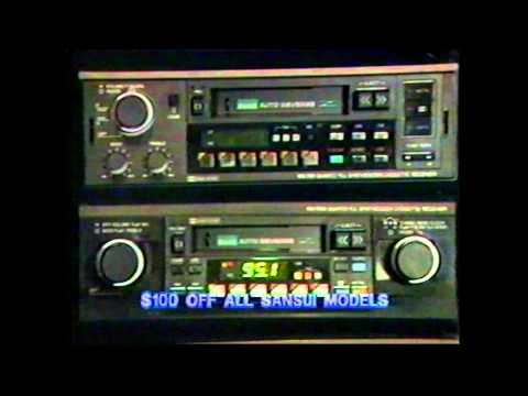 Throwback Freeman's Commercial From 1985 Featuring Sansui