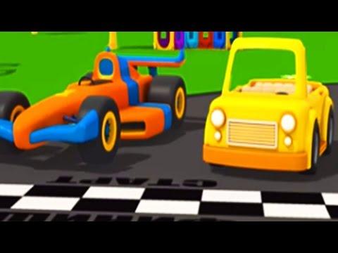 Leo Junior und das Cabrio   3D Cartoon für Kinder in deutsch
