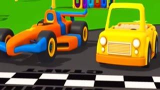 Leo Junior und das Cabrio | 3D Cartoon für Kinder in deutsch