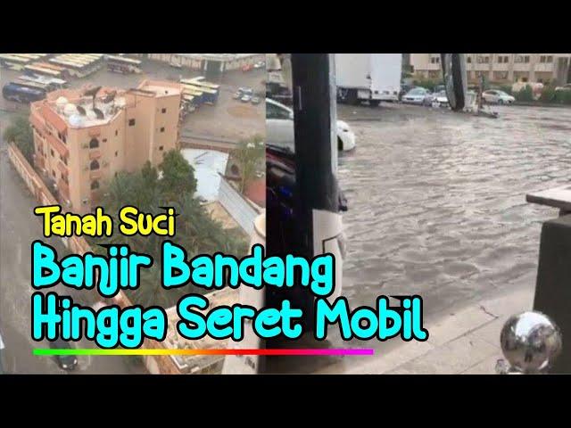 Banjir di Mekkah Saat Menjelang Puncak Idul Adha
