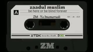 Gambar cover ZAADUL MUSLIM - YA imamarusli #Voc Suaib
