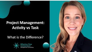 Project Management - Activity versus Task?