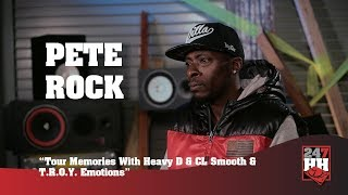Pete Rock - Memorable Studio Moment Mixing TROY (247HH Exclusive)