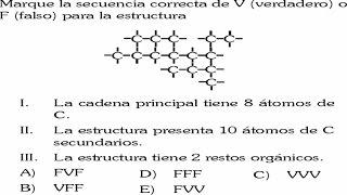 ALCANOS - QUIMICA ORGANICA EJERCICIO RESUELTO
