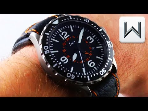 SINN 857 UTC/GMT TESTAF Pilots Watch Luxury Watch Review