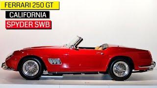 Most Beautiful Ferrari , The 250 GT California  Spyder SWB