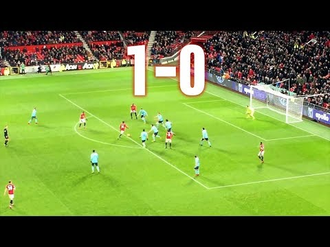 Manchester United vs Bournemouth - 1-0, Premier League, 13.12.2017