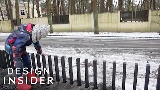 World's Coolest Security Gate Can Disappear