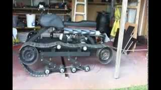 How To Build A Tank. Installing The Drive Wheels For My Homemade Tracked Vehicle. Part 8
