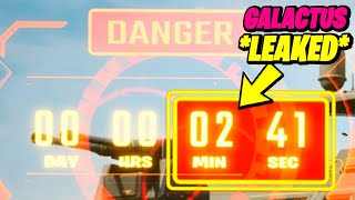 Fortnite Galactus Event Official Countdown & END LEAKED