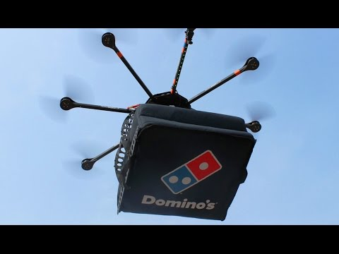 Pizza Delivery By Drone Has Arrived The Domicopter