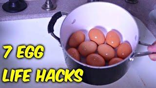 7 Egg Life Hacks - Compilation