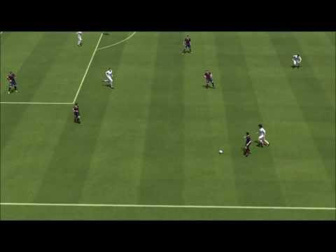 Pedro's nutmeg Neymar's goal