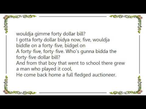 Gordon Lightfoot - The Auctioneer Lyrics