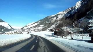 Switzerland 115 (Camera on board): Les Haudères (VS), Evolène, Val d'Hérens