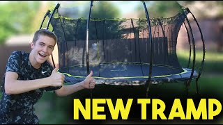 INSANE NEW TRAMPOLINE!!