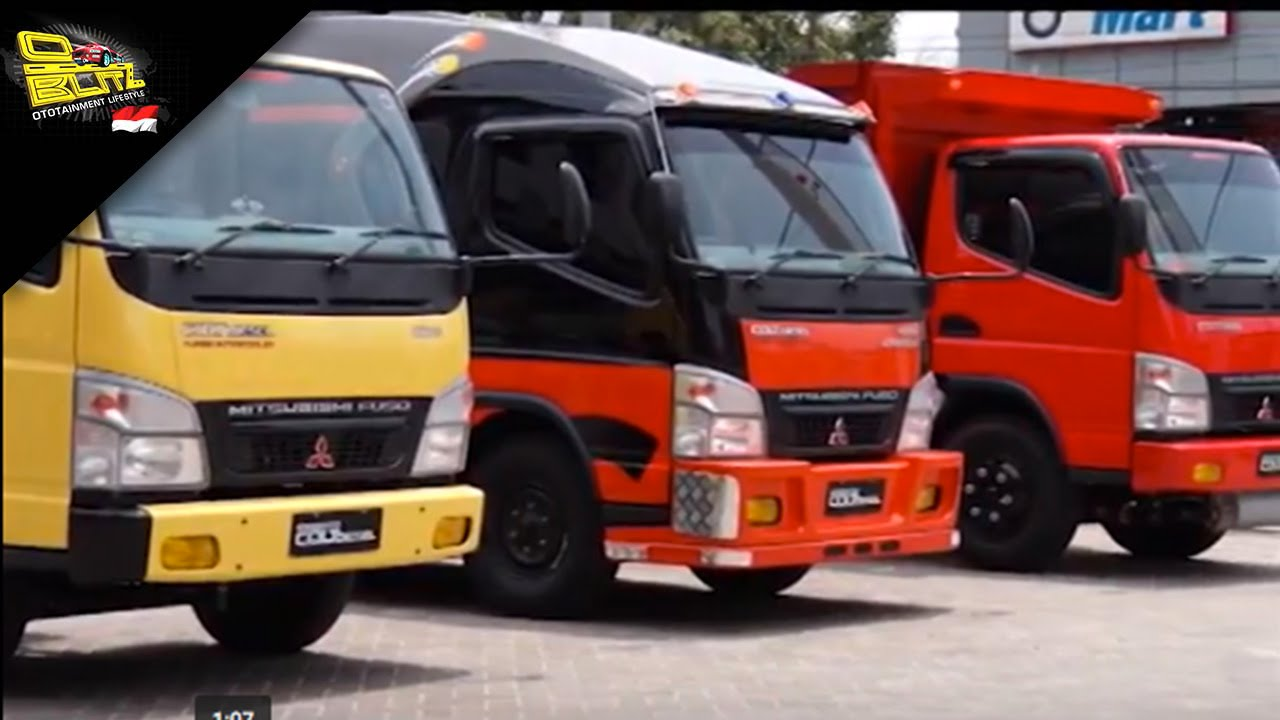 truk canter Mitsubishi model