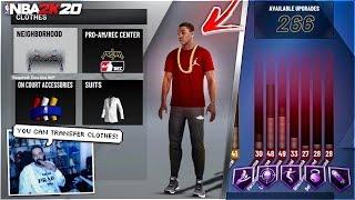 "NBA 2K20 - CLOTHES TRANSFER, NEW ""RESPEC"" SYSTEM, PARK TRAILER, STAMINA & MORE! NBA 2K20 NEWS"