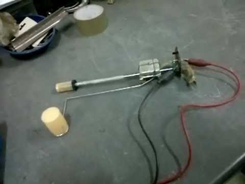 Fuel Tank Sender Testing - YouTube