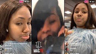 City Girls: Yung Miami Talk Visiting